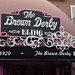 The Brown Derby Sign