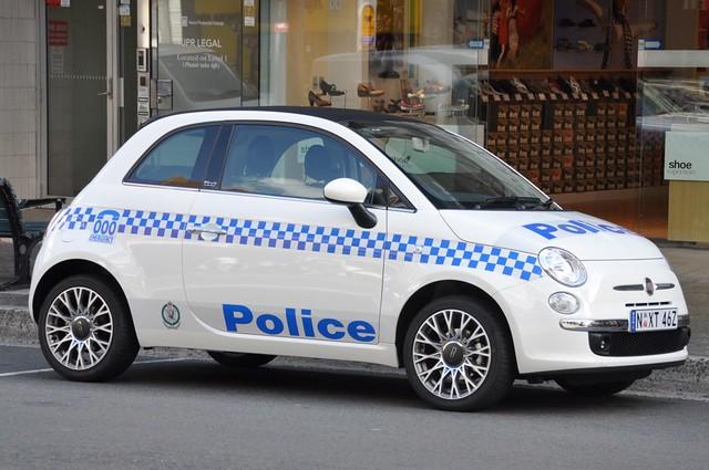 Sydney Police Car