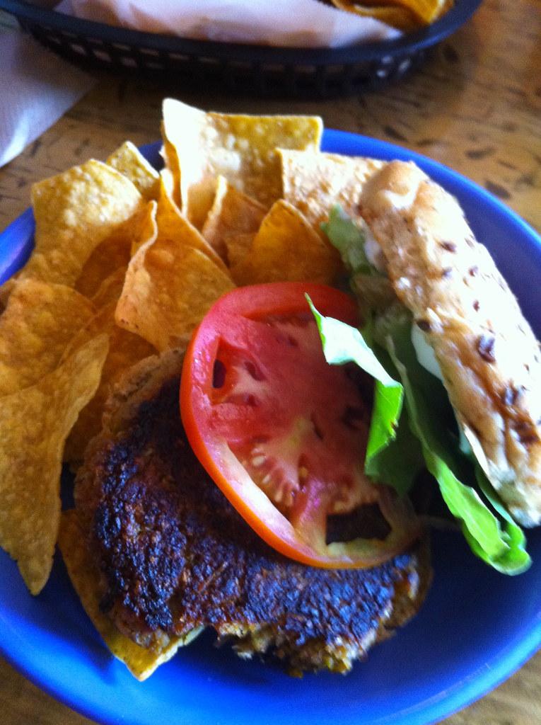 Rosetta S Kitchen Vegan Burger Asheville Spencer Hope