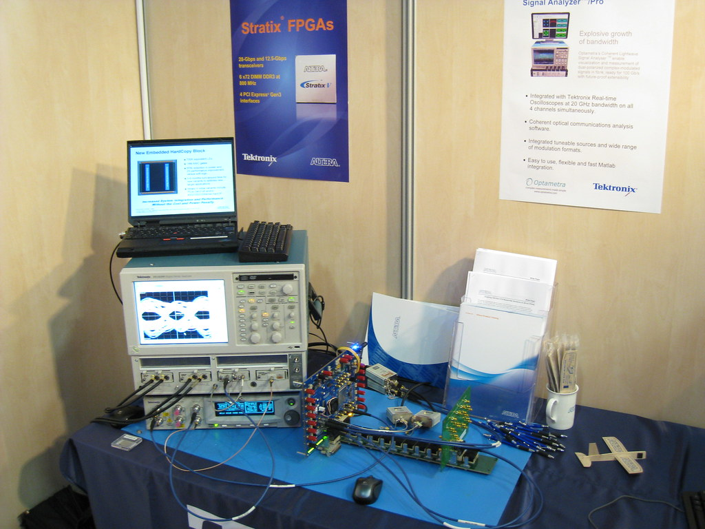 Altera 25Gbps Transceiver Demonstration at ECOC2 | Altera Co