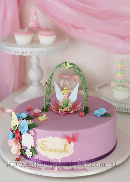 Tinkerbell Birthday Cake   Temeraire   Flickr