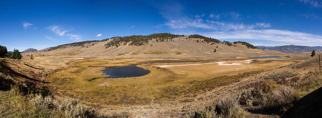 yellowstone national park panoramic