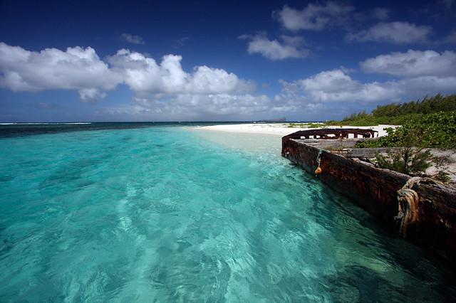 Ile Maurice -île-plate