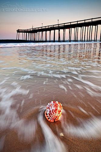 usa beach pier md nikon action shell maryland wave explore oceancity 1224mm d5000