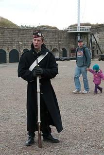 Reenactor, Halifax Citadel | by Elizabeth Buie