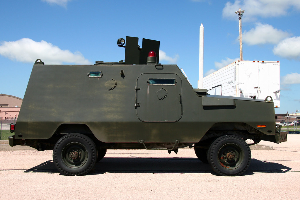 USAF Peacekeeper Armored Vehicle | This vehicle is built upo
