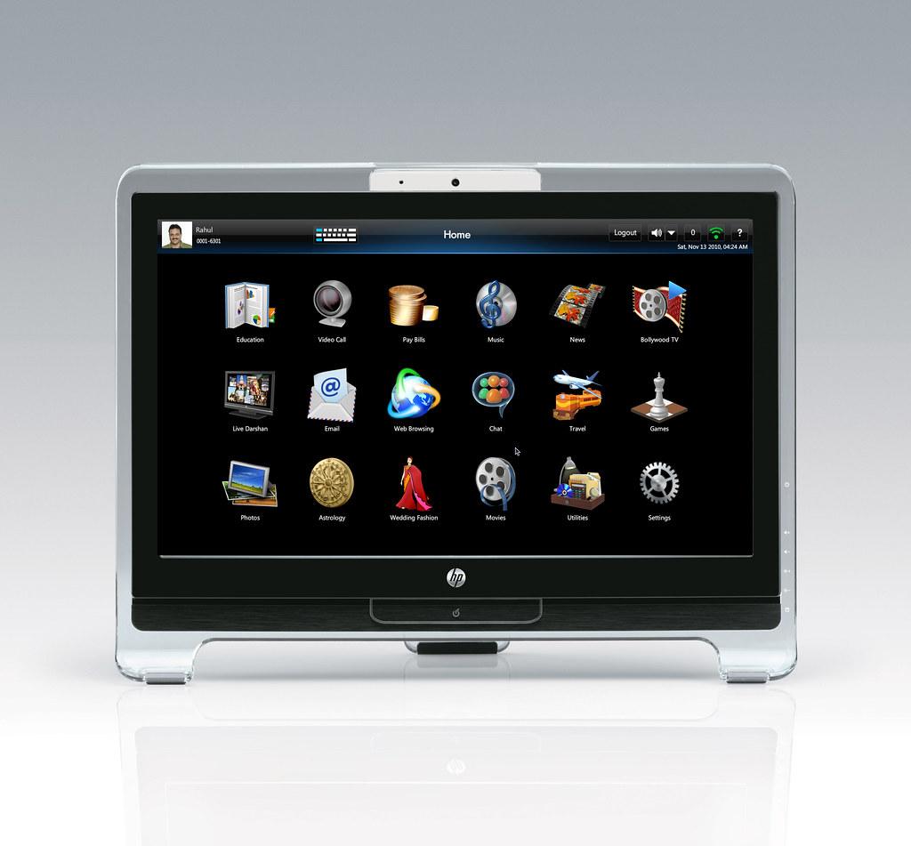 DreamScreen Home Screen   The HP DreamScreen 400 was designe