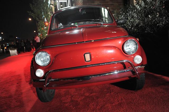 An Old FIAT Cinquecento