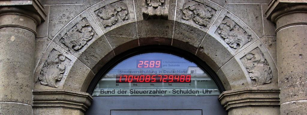 Schuldenuhr Berlin Live