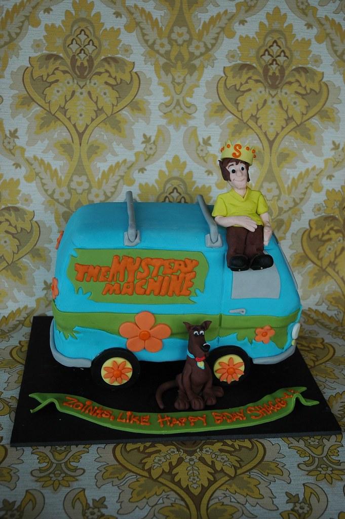 Prime Scooby Doo Birthday Cake 70S Cake Made For A Shaggy Fan Flickr Funny Birthday Cards Online Elaedamsfinfo