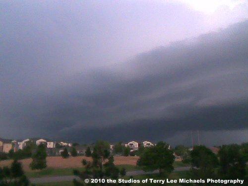 Kansas T-Storm Approach...