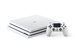 Glacier White PS4 Pro | by PlayStation.Blog