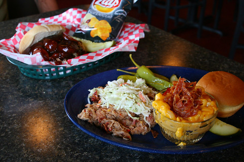 BBQ Lunch at Breckenridge Brewery | by Eva Rees