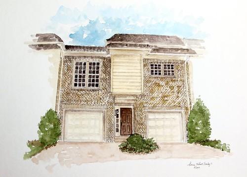 2010 Tour Watercolor: Richmeade Condominiums