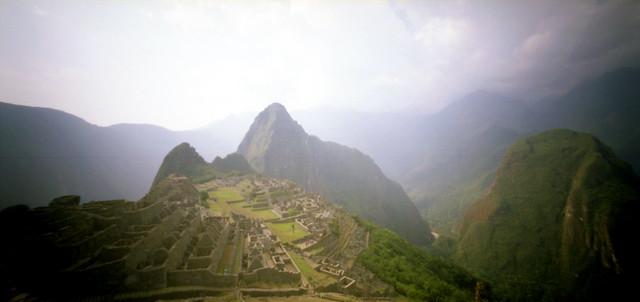 Machu Picchu en Holga 120 WPC #2