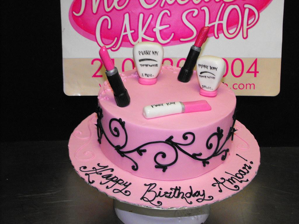 Mary Kay Birthday Cake