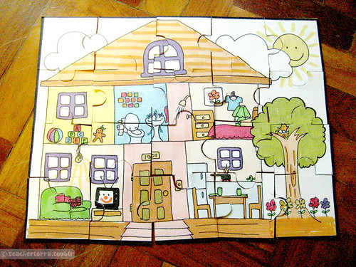 House Puzzle | by Lorra Elena