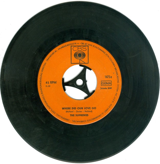 Supremes, The - 1 - Where Did Our Love Go - D - 1964--