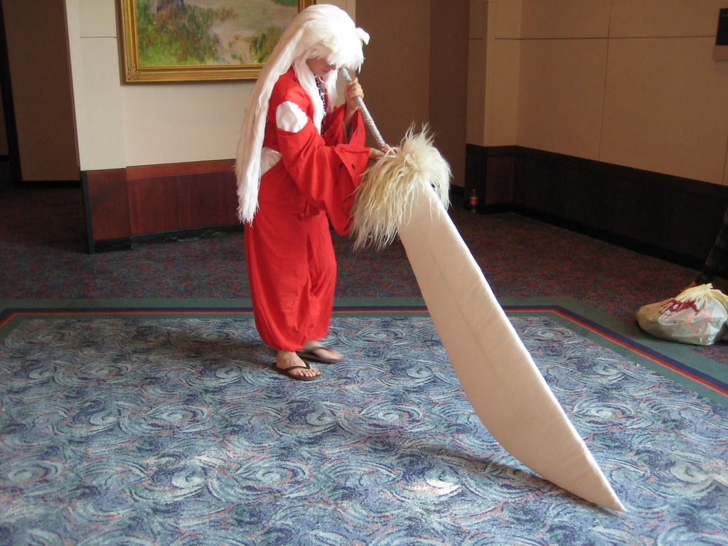 Inuyasha Cosplay Sword Pose Emily Mitchell Flickr