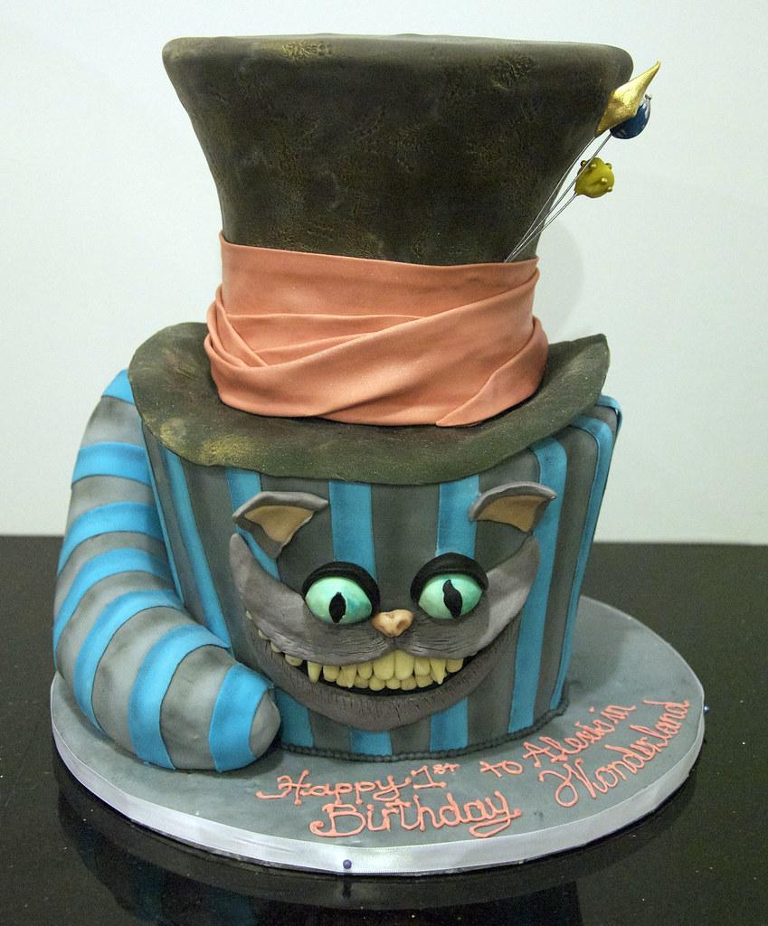 johnny depp mad hatter cake