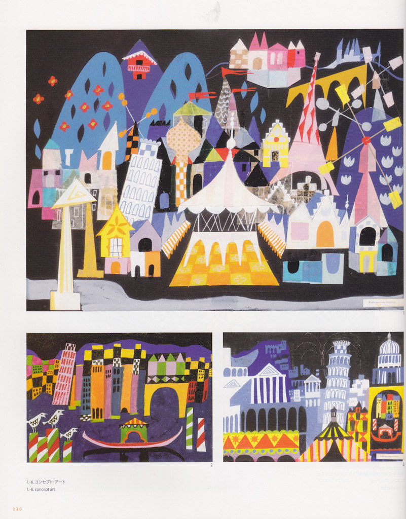 Mary Blair Its A Small World Concept Art