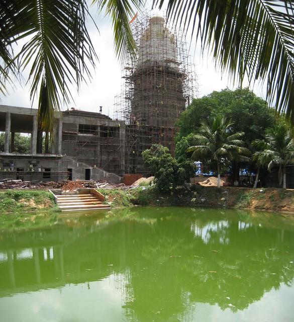 Upcoming Pandurangan temple 2