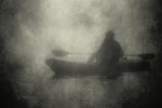 Drifter in the Fog   by Eric Vondy