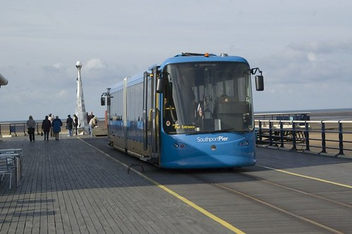 Southport Pier Tramway   by markhows