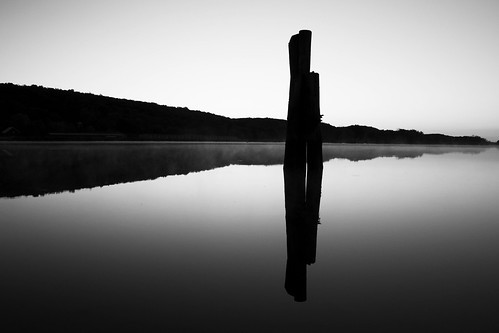blackandwhite bw mist reflection sunrise river dawn pier connecticut shoreline ct blackdiamond haddam blackwhitephotos giantonio kgiantonio kengiantonio