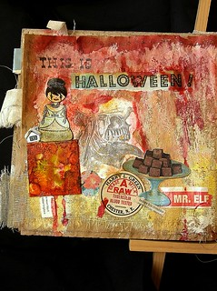 This is Halloween ... Art Journal pages