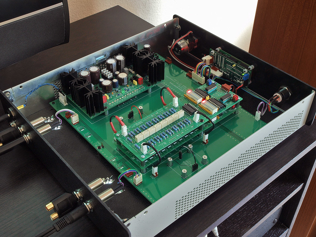 DIY: AMB/linuxworks labs alpha10 audio preamp | its boxed! s… | Flickr