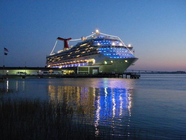 148/365/878 (November 6, 2010) - Carnival Glory Docked in Charleston, South Carolina