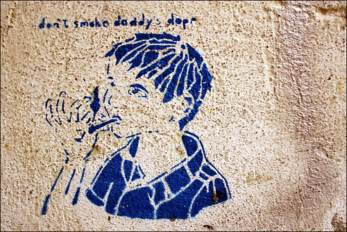 don´t smoke daddy´s dope | by alias URBAN ARTefakte