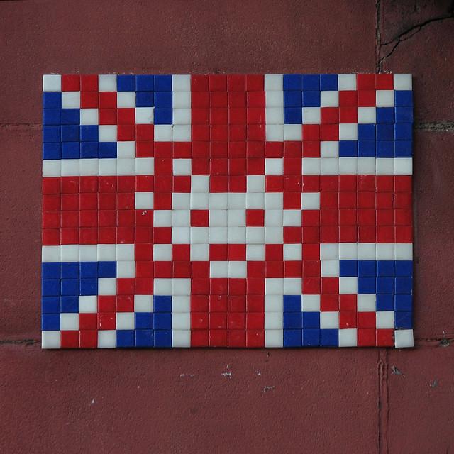 Union Jack space invader