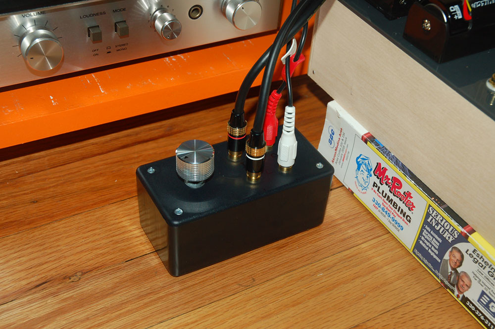 DIY Passive Preamp   Volume control, one input, one output -…   Flickr