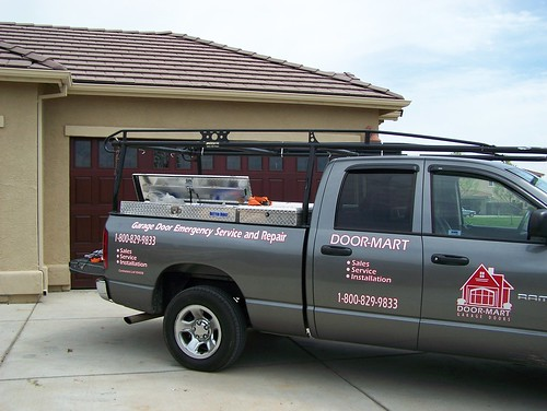 Door-Mart Garage Door Service Truck | by DoorMartGarage