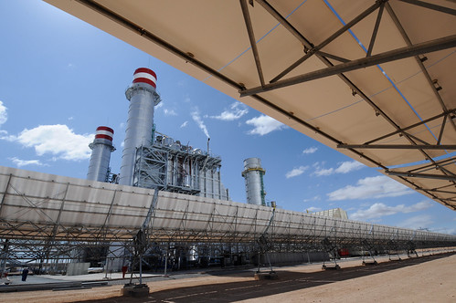 Thermo-solar power plant   by World Bank Photo Collection