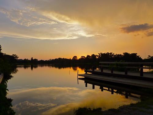 sunset by rouge photo louisiana mark lakes lsu superstar baton antifluff galasso