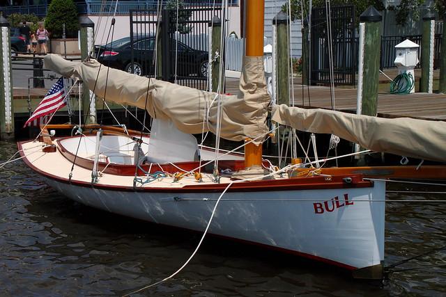 Annapolis Wood Sailboat