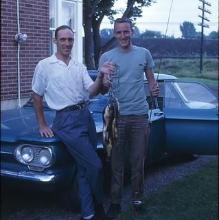 Roger Thompson Fishing June 30 1962