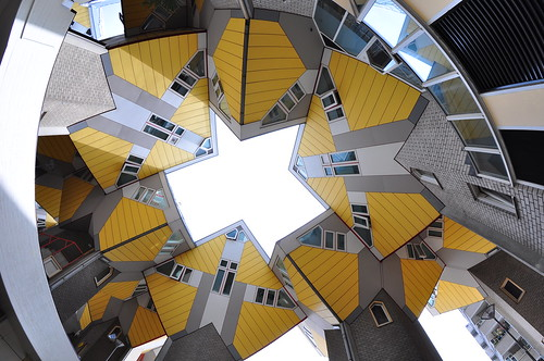 Rotterdam cube house