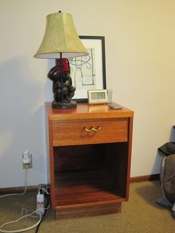 Refinished nightstand