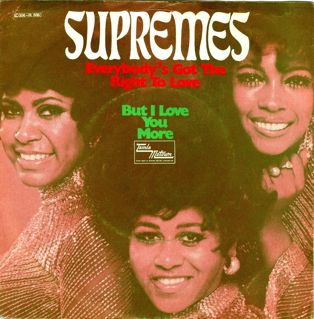 Supremes, The - 19 - Everybody's Got The Right To Love - D… | Flickr