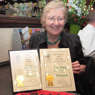 HARP CAMRA London Pub of the Year 2010 presentation | by streatham mike