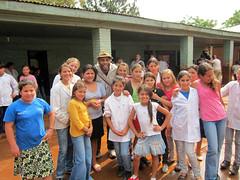 TOMS Shoes One Millionth Pair Shoe Drop, San Pedro School Argentina 20 Sept 2010