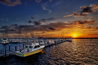 Sunset Over Stuart Marina Florida | by Captain Kimo