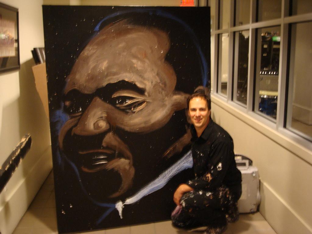 Amazing Hero Art Rob Surette
