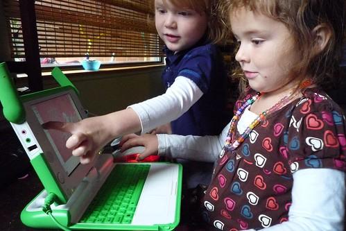 Kids heart OLPC (no matter what the critics say) | by Tim & Selena Middleton