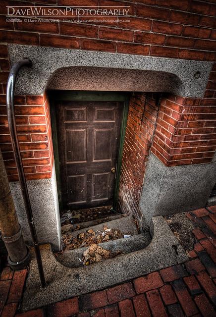 Tiny Door III, Beacon Hill, Boston