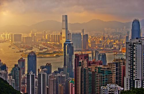 Hong Kong Sunset | by DeeMakMak